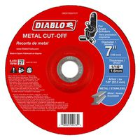 CUTOFF DISC METAL DC 7 IN