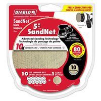 DISC SANDING PAPER 80GRIT 5IN