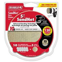 DISC SANDING PAPER 120GRIT 5IN