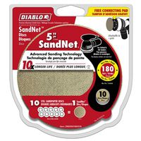 DISC SANDING PAPER 180GRIT 5IN