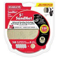 DISC SANDING PAPER 320GRIT 5IN