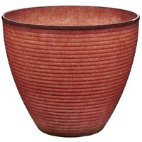 PLANTER WAVE RESIN 22X18.6IN