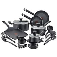 COOKWARE SET BLACK 20PC
