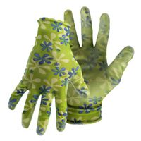 GLOVES GRDN LADIES PU CTD FLRL