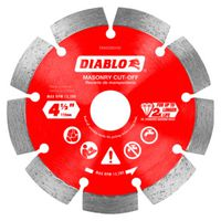 DISC CUT-OFF DMND SEG 4-1/2IN