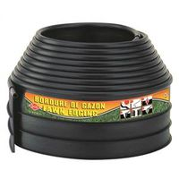 EDGING LAWN 4INX20FT POLYE BLK