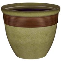 PLANTER TALL WAVE RSN 14.75IN