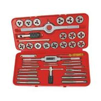 SET TAP&DIE 3.12MM 40PC