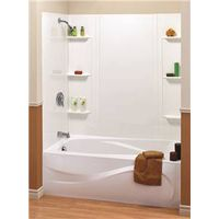 Maax 101604-000-129 5-Piece Bathtub Wall Kit