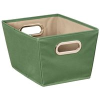 BIN STORAGE W/HANDLE SM GREEN