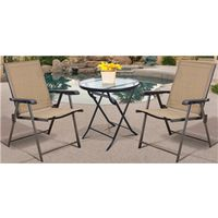 BISTRO TABLE FOLD GLS 27IN RND