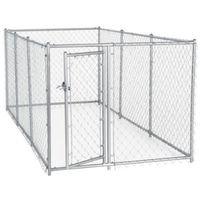 KENNEL DOG CHNLNK 4X5X10FT