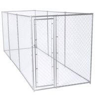 KENNEL DOG CHNLNK 6X5X15FT