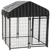 KENNEL DOG WDWR W/CVR 52INX4FT