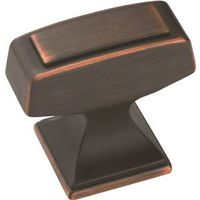 Amerock Mulholland BP53029ORB Square Traditional Cabinet Knob