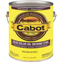 Cabot 1600 Oil Based Solid Color Decking Stain