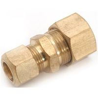 Anderson Metal 750082-1008 Brass Compression Union