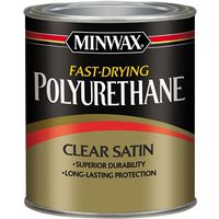 Minwax 23010 Oil Based Fast-Drying Polyurethane