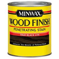 FINISH WOOD TRUE BLACK 1/2PT
