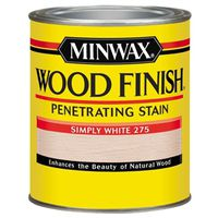 FINISH WOOD SIMPLY WHITE 1/2PT