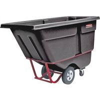 Rubbermaid 1305BLK Standard Duty Rotational Molded Tilt Truck