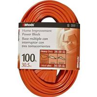 Woods Tri-Source SJTW Extension Cord