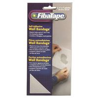 TAPE WLL BANDAGE 7X7IN WHT
