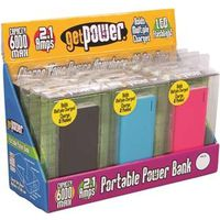 POWER PACK 6000MAH DISPLY 12PC