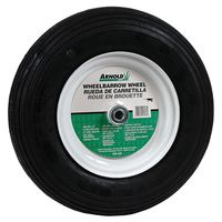 Arnold WB-438 2-Ply Pneumatic Ribbed Tread Replacement Wheelbarrow Tire