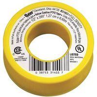 GAS LINE TPE PTFE YELLOW 1/2IN