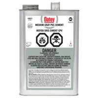 CEMENT PVC MED-GRAY 3.78L