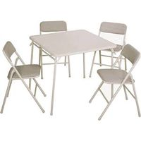 Cosco 14551WHT Classics Folding Table and Chair Sets