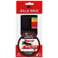 TRAP SPIN MICE INDR PLSTC 2PK