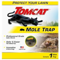 TRAP MOLE PLASTIC BROWN 1 PACK