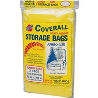 Coverall CB-60 Jumbo Storage Bag with Twist Ties