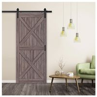 DOOR BARN GUNSTOCK FINISH