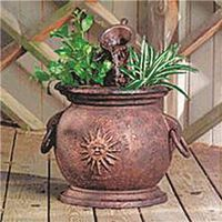 Little Giant 566763 Classical Calabria Fountain Kit With Planter