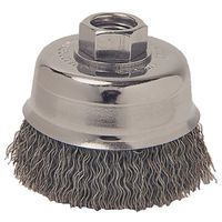 Weiler 36031 Coarse Grade Crimped Wire Cup Brush