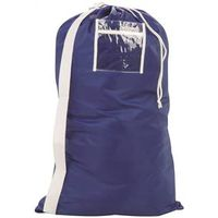 BAG LAUNDRY SHOULDER 24X36 BLU
