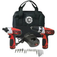 KIT CORDLESS 2PC RED