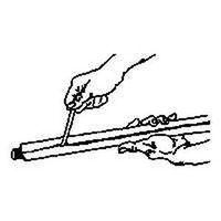 FOAM PIPE INSUL 1/2WX1-3/8X6FT