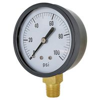 Valley CS-1124DAB100 Pressure Gauge