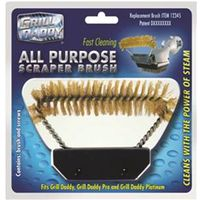 Grill Daddy GA12375 All Purpose Replacement Scraper Brush