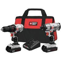 Porter-Cable PCCK604L2  Cordless Impact Drill/Driver Kits