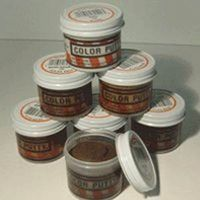 Color Putty 124 Oil Based Wood Filler