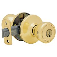 Kwikset Tylo 400 Signature Ball Flat Entry Knob Lock