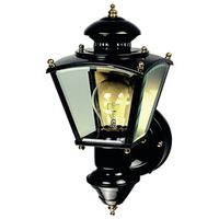 Heathco HZ-4150-BK Heath/Zenith Porch Light Fixture