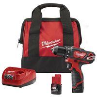 Milwaukee M12 Cordless Drill/Driver Kit