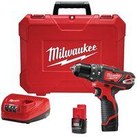 Milwaukee M12 Cordless Hammer Drill/Driver Kit