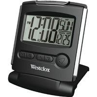 Westclox Travelmate Compact Folding Travel Alarm Clock